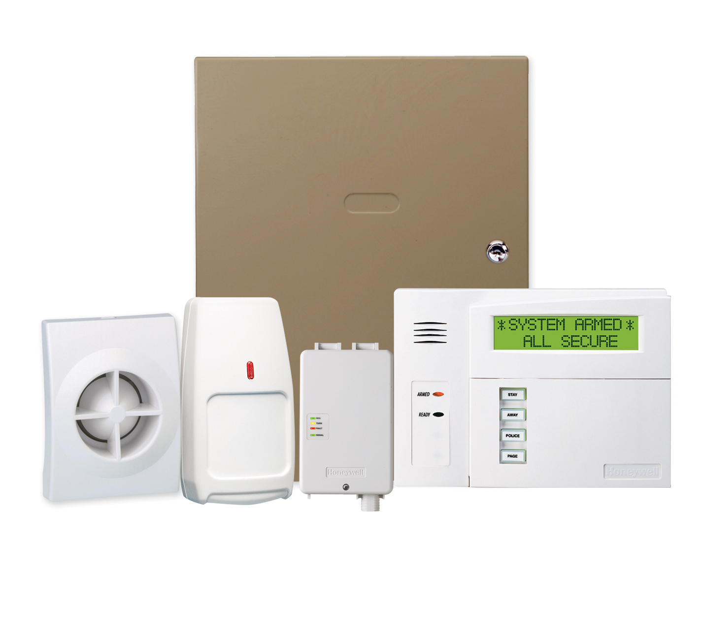 Wired And Wireless Security Systems Derby City Alarm Contacts Wiring In Series Let Service Install A New System Like The Honeywell Ademco Vista 15p At Your Location Contact Us To Discuss